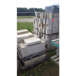 Eight pallets of tindle stone