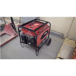 Kipor 6500 electric start gas generator (just serviced)