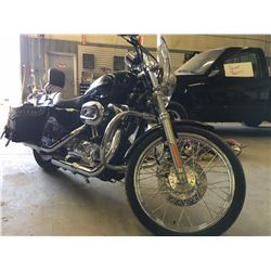 2006 Harley Davidson XL 1200cc VIN 5HD1CGP126K464186 with many upgrades and extras and 10,449 Kms