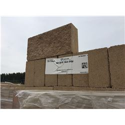 Fourteen pallets of 120 blocks per pallet of NW SP1S 10CM BEIGE paid 12,000.00