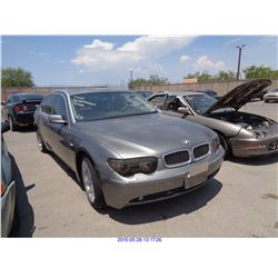 2002 - BMW 7-SERIES