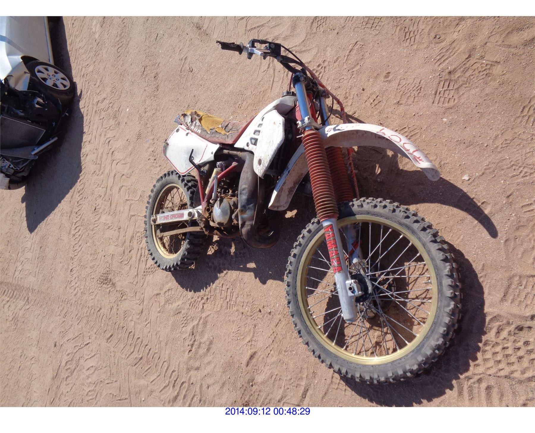 2003 - YAMAHA DIRT BIKE - Rod Robertson Enterprises Inc
