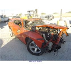 2010 - DODGE CHALLENGER // PARTS ONLY
