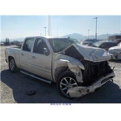 2011 - GMC SIERRA 1500 // SALVAGE TITLE