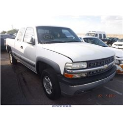 2000 - CHEVROLET SILVERADO 1500  // REBUILT SALVAGE  with TX Title