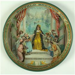 Buffalo Brewing Company Saloon Tray (Pan-Pacific Exposition, 1915)