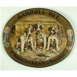 Carroll Rye, Louis Taussig Saloon Tray