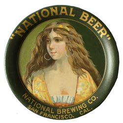 National Brewing Company Trip Tray