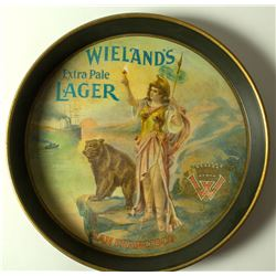 Wieland's Extra Pale Lager, San Francisco Saloon Tray