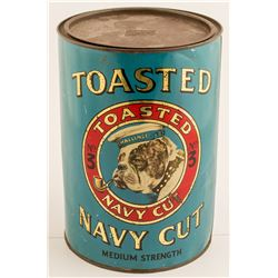 Tobacco Tin: Toasted Navy Cut Smoking Tobacco