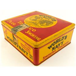 Canadian World's Navy Tobacco Tin