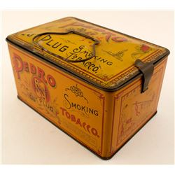 Vintage Pedro Tobacco Lunchpail