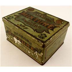 The Richmond Mixture Tobacco Tin Box