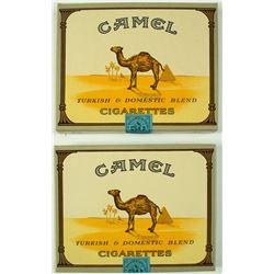2 Unopened Packs of 50 Camel Cigarettes