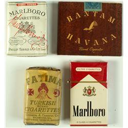 4 Vintage Unopened Cigarette Packs