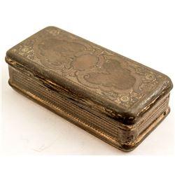 Antique Hinged Cigarette Case