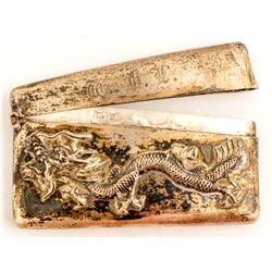 Dragon Silver Match Case