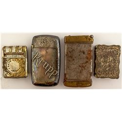 Four Different Style Match Cases