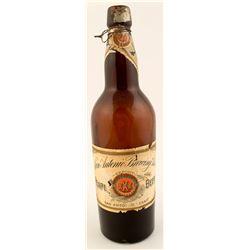San Antonio Brewing Association Beer Bottle