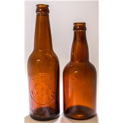 Early Coors and Pabst Beer Bottles