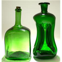 2 Green Modern Whiskies