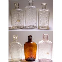 6 Midwestern Whiskey Bottles