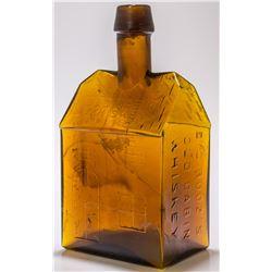 Amber E. C. Booz's Old Cabin Whiskey