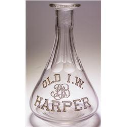Old I. W. Harper Mini Decanter