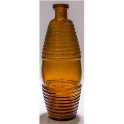 Amber Barrel Bitter Bottle