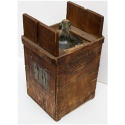 Newman's Boxed Demijohn Water Bottle in Crate