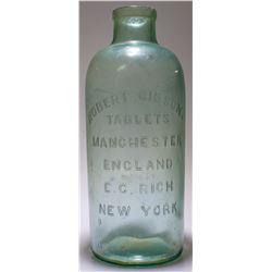 Robert Gibson Tablet Bottle c.1880