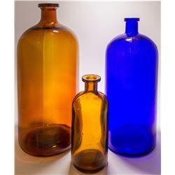 Three Pharmaceutical Jars