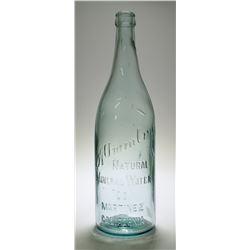 Alhambra Natural Mineral Water Bottle (Martinez, California)