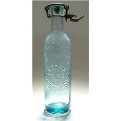 Aetna Bottling Bottle with Rare Closure