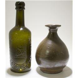 7 Assorted American Bottles