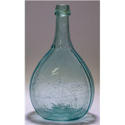 Aqua Historical Duck Hunter Flask