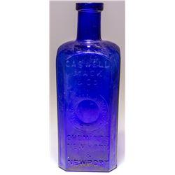 Caswell Mack & CO Cobalt Bottle