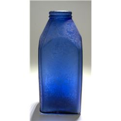 Early Cobalt Food Bottle