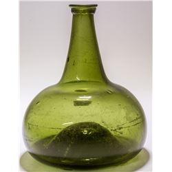 Dutch Onion Bordeaux Bottle c.1700-1720