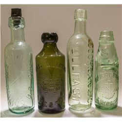 Four Foreign Bottles