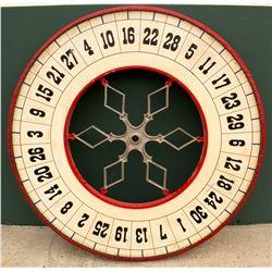 Decorative Gaming Wheel from Unknown Reno Gambling Club