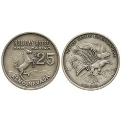 United States Bicentennial Souvenir Casino Token (Holiday Hotel and Casino, Reno)