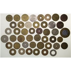 Collection of Slot Machine Tokens