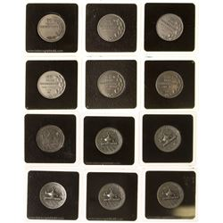 ANA 60 Year Personalized Membership Electrum Medals