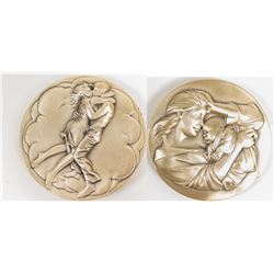 Society of Medalists: Couple Embracing