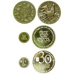 Three Millennia Jerusalem Medals