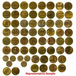 Bronze Israeli Medals (33)