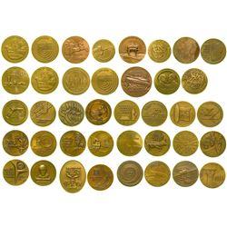 Bronze Israeli Medals (27)