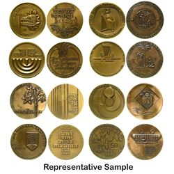 Bronze Israeli Medals (17)
