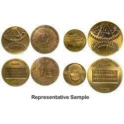 Bronze Israeli Medals (4)